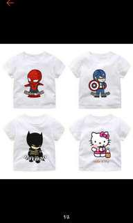 Cute Cartoon T-shirt 1-6yo