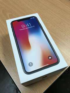 iPhone X 64GB Space Gray NEW SET