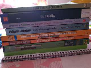 English, Math & More TextBooks