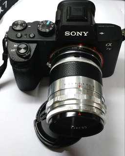 白銀黑咀CarlZeissJena CZJ Biotar 58mm F2 (稀有 文青Leica M mount)