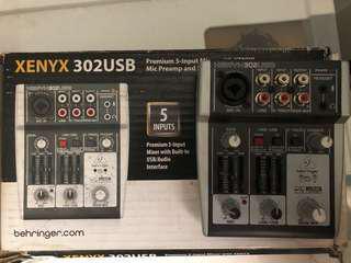 Mixer Behringer Xenyx 302 usb