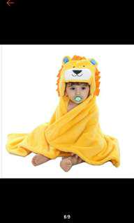 Baby Bath Towel (Cartoon Design)