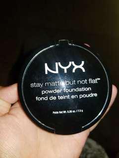 Nyx (stay matte but not flat)