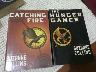 Catching Fire and The Hunger Games