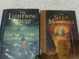 The lightning thief & The sea of monsters