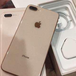 Iphone 8 plus 64gb gold zpset