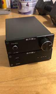 雙目三林 SMSL amplify and DAC