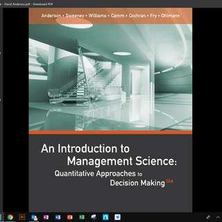 BU8401 Management Decision Tools PDF Textbook
