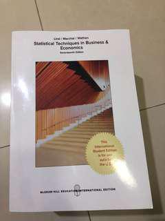 Statistical Techniques in Business & Economics 17ed