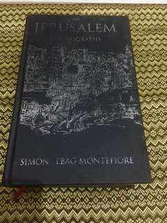 Jerusalem the Biography - Simon Sebag Montefiore