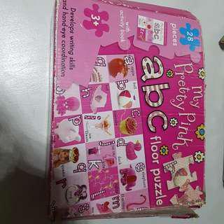 Alphabets Floor puzzle