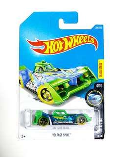hot wheels 玩具車 藍綠 X-RAYCERS 296