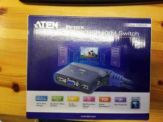 Aten USB Kvm switch 分線器 X3