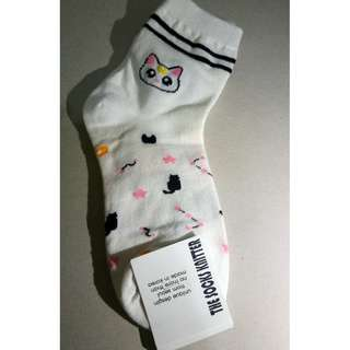 Character Socks - Artemis (Sailor Moon)