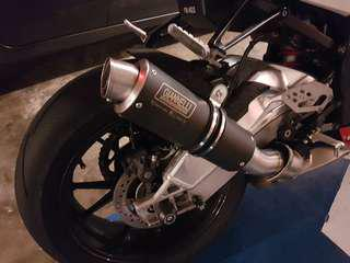 2010-2014 S1000RR Giannelli Xpro Exhaust