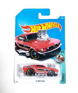hot wheels 玩具車 紅 tooned 27