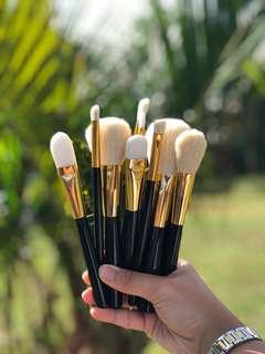 12pcs Goat Hair makeup brushes