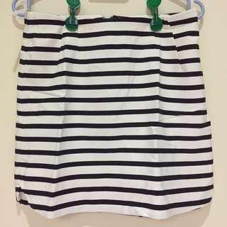 Stripes New Look Skirt