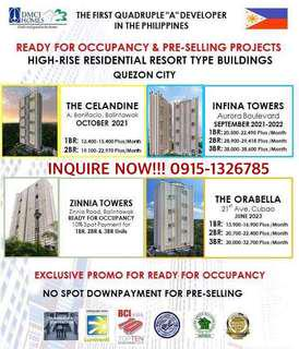 RFO & PRE SELLING CONDOMINIUM FOR SALE (NO DOWNPAYMENT REQUIRED)