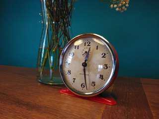 Westclox wind up clock (working) Scotland antique