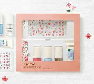 Innisfree Love Blossom VIP Nail Polish Kit