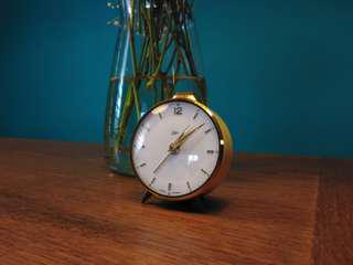 Emes small wind up clock (working) Germany antique