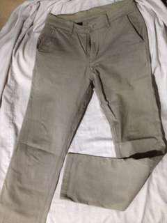 Celana chino tirajeans khaki Skinny fit (karet)