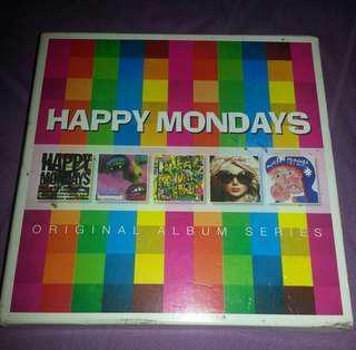 5CD Happy Mondays. 5 in 1 set