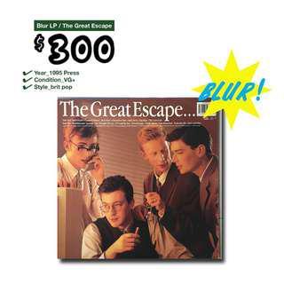 🏊🏻BLUR / The Great Escape LP