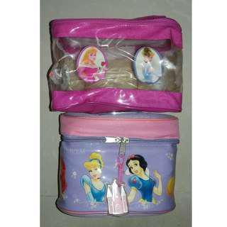 Disney Princess Cosmetic Bags