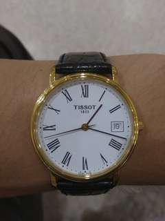 Tissot T870/970 quartz watch. Sapphire glass, 36mm case.