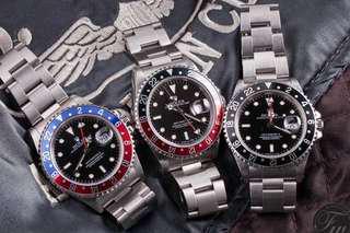 WTB 16700 & 16710 Rolex GMT Master II