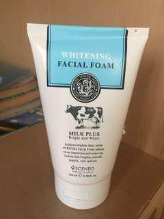 Whitening Facial Foam