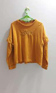 Mustard secret sweater mango
