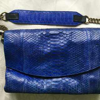 Johnny Ramli Snakeskin Leather Bag
