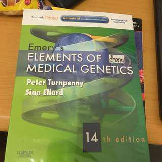 Emery's medical Genetics