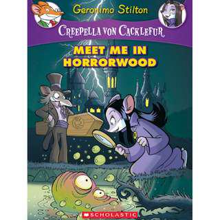 Ebook Meet Me in Horrorwood - Geronimo Stilton