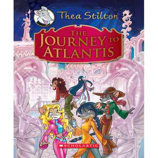 Ebook Journey to Atlantis - Thea Stilton