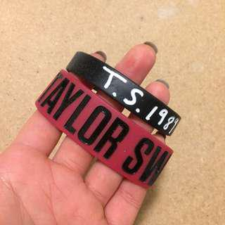 Taylor swift wristbands