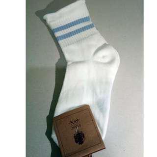 Pastel Double Striped Socks