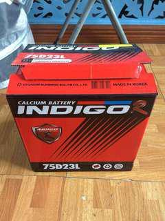 Car Battery (Indigo Calcium Battery)