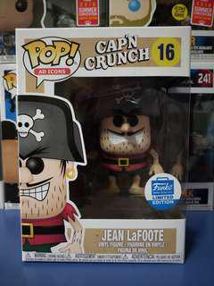Damaged Jean Lafoote Funko Pop cap'n crunch