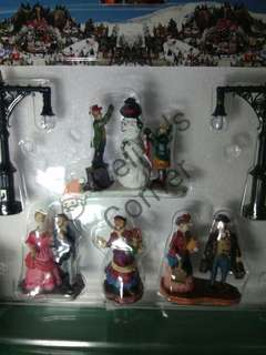 Christmas Village Accessories set #1