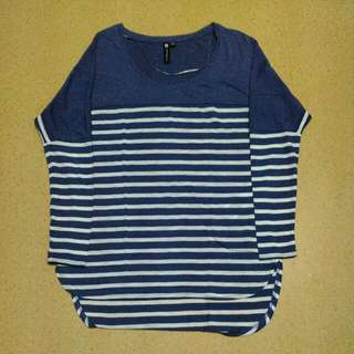 COTTON-ON STRIPES TOP