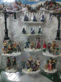 Christmas Village Accessories set#3