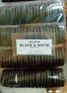 Black and white (oreo)