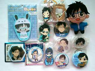 [OFFICIAL] Yuri on Ice Official Merchandise (Scroll for more..) #UNDER90
