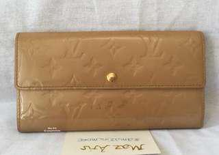 🔥 Lowered price 🔥 Authentic LV - Louis Vuitton Vernis brown wallet
