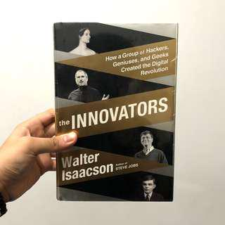 The Innovators by Walter Isaacson (Brand New Hardbound)
