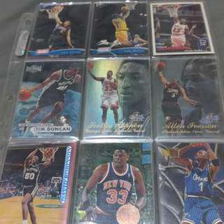 NBA球員卡(20年的收藏)